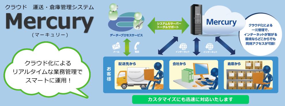 クラウド 運送・倉庫管理システムMercury
